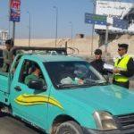 احتراق 7 سيارات في حادث مروري صباح اليوم